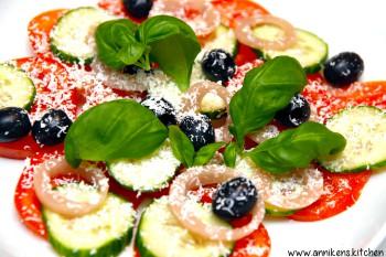 Greskinspirert salat