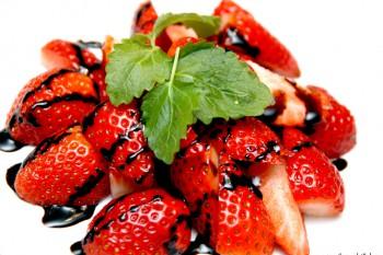 Tips: Jorbær og balsamicokrem