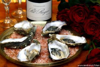 Valentines Day: Østers med saus av champagneeddik