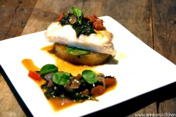 Bacalaoinspirert torsk med potetfondant