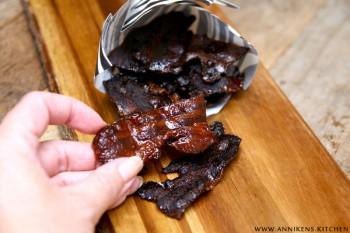 Kandisert bacon