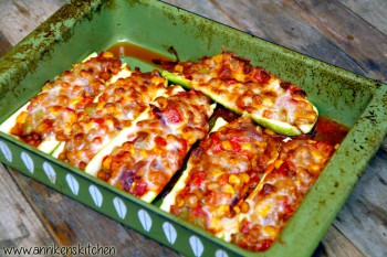 Vegetariske burritobåter