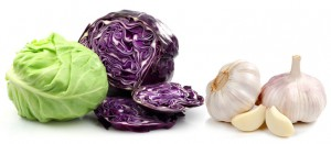 cabbage-garlic