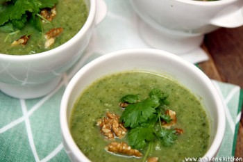 Blomkål- og grønnkålsuppe (Vegan)