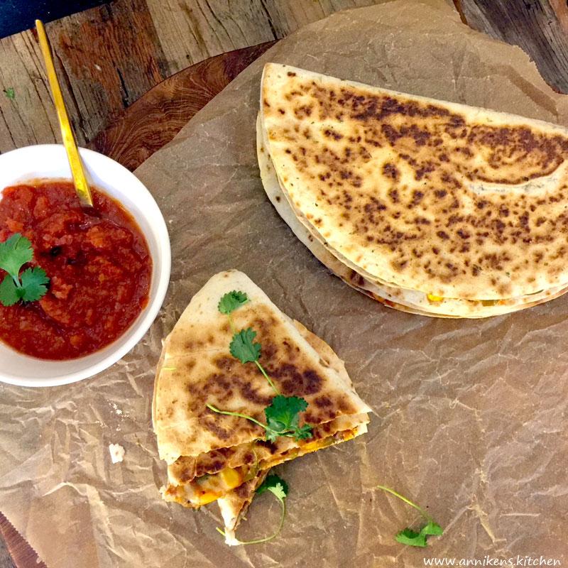 Veganske quesadillas