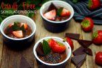 Vegansk sjokoladepudding med avocado