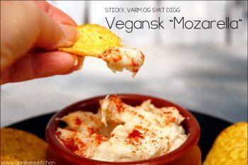 Vegansk mozarella på cashewnøtter og tapioka