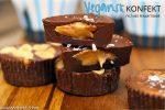 Vegansk konfekt med peanøttsmør