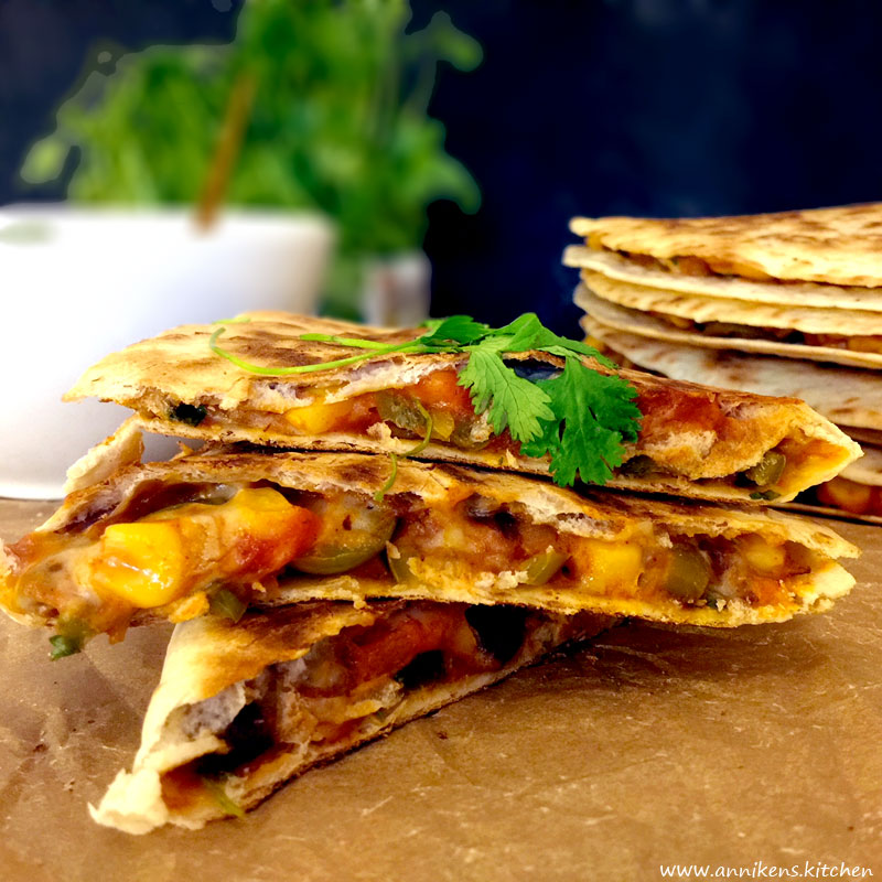 Veganske quesadillas