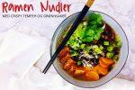 Ramen nudler med crispy tempeh – helt vegansk, helt enkelt, helt nydelig!