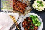 Vegansk meatloaf med BBQ-smaker