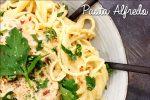 Vegansk Pasta Alfredo med få ingredienser